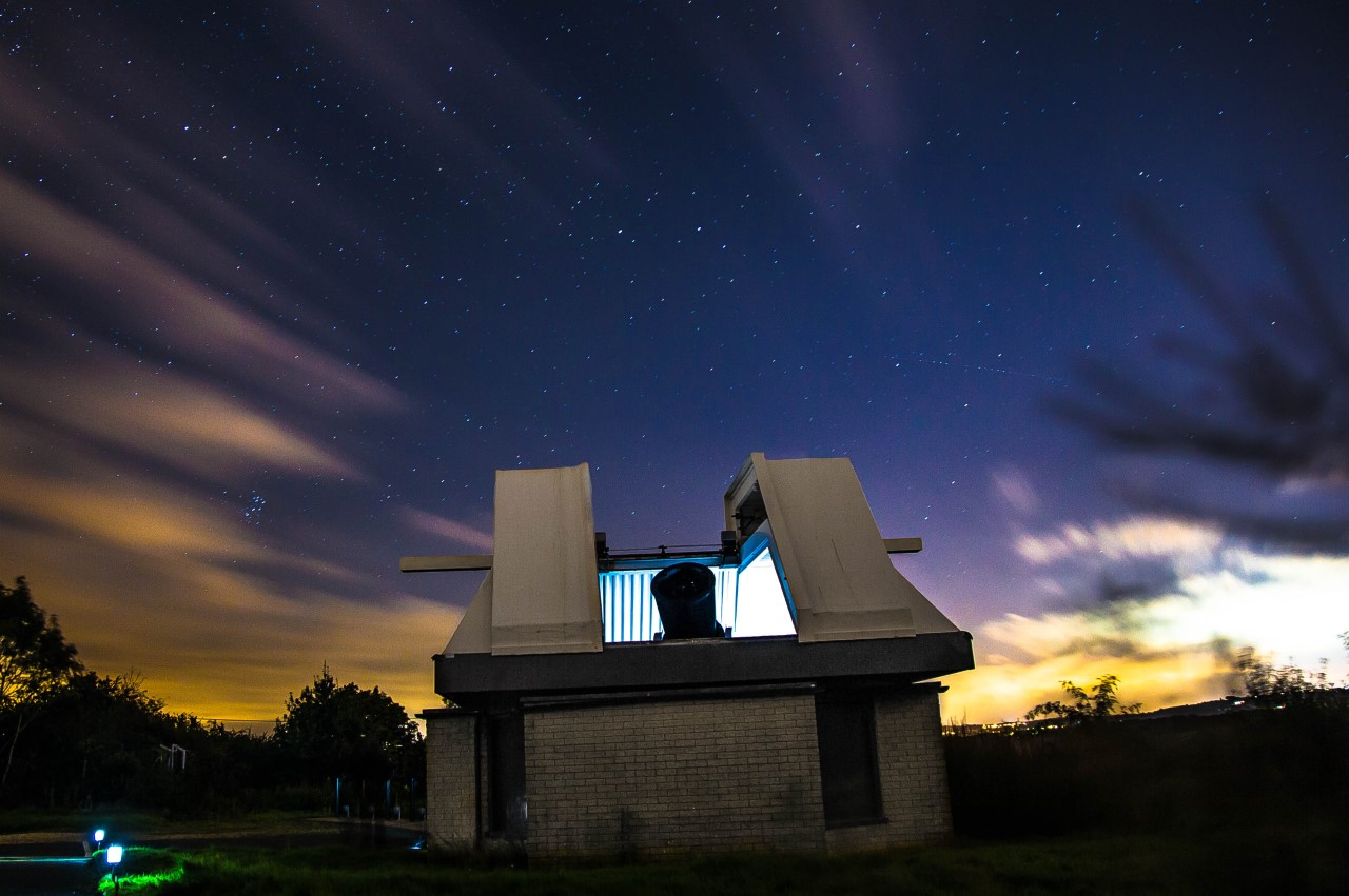 MHT telescope at Alston Observatory. Image credit: Mark Norris