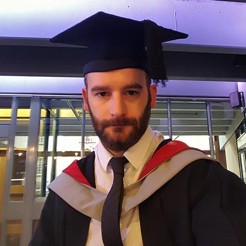 UCLan Astronomy graduate, Stephen Mercer