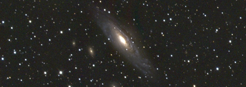 NGC7331, observed with Alston MHT. Image Credit: Mark Norris.